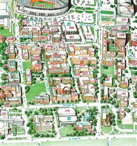 Ohio State Campus Map by 301 Moved Permanently