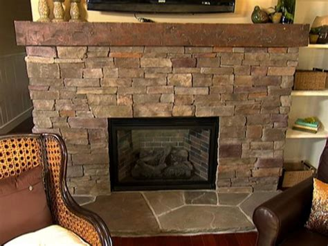 how to stone a fireplace stacked stone fireplace how to video diy