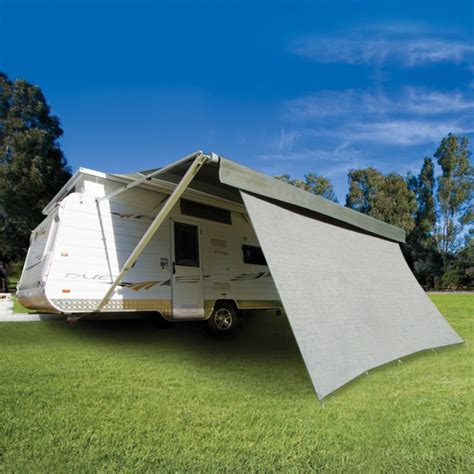 privacy awnings caravansplus cgear privacy screen 5180mm x 1800mm suit