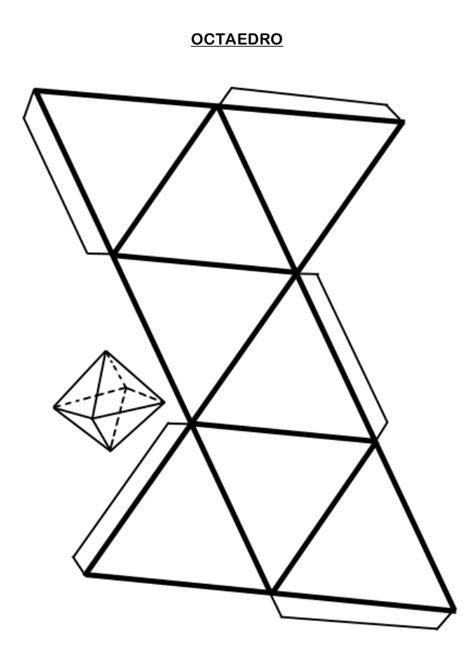 figuras geometricas recortables pdf resultado de imagen para octaedro para armar poliedros