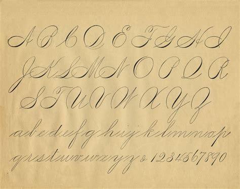 printable victorian letters free antique clip art pen flourishing alphabet the