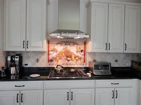 Kitchen Tile Murals Tile Art Backsplashes by Italian Tile Backsplash Kitchen Tiles Murals Ideas