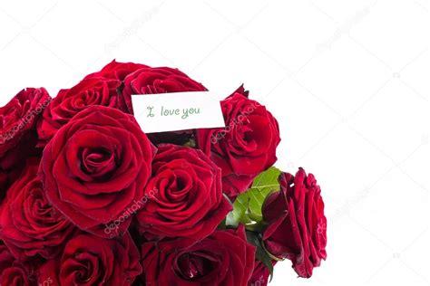 de 6 rosas rojas amor twitter facebook google descripcin con rosas rosas rojas con una declaraci 243 n de amor foto stock