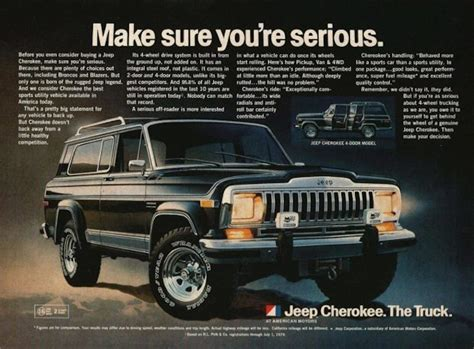 jeep cherokee ads 1982 jeep cherokee fsj 4 jk forum