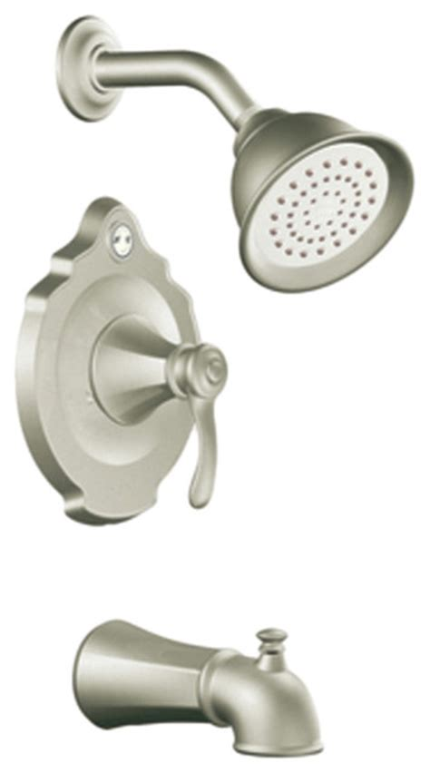 moen t2503bn brushed nickel posi temp tub shower valve