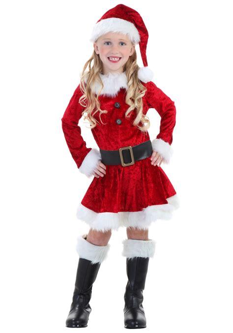 Dress Santa Kidos toddler mrs claus costume