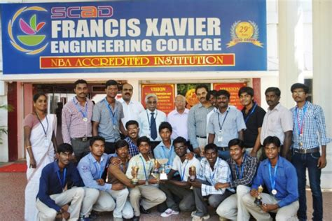 Francis Univeristy Mba by Francis Xavier Engineering College Tirunelveli Contact