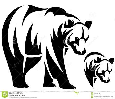 tribal bear head tattoo drawing bears and tattoos on