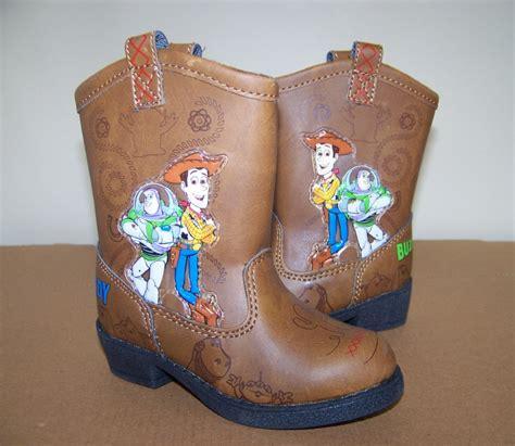 story cowboy boots woody buzz toddler sz 5 6 ebay