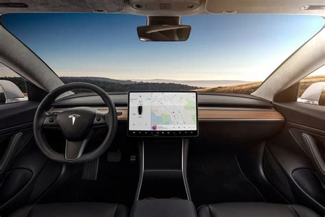 tesla car interior pictures take a look at the future of car interiors gear patrol