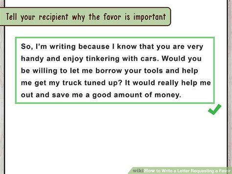 Request Letter Asking A Favor The Best Way To Write A Letter Requesting A Favor With