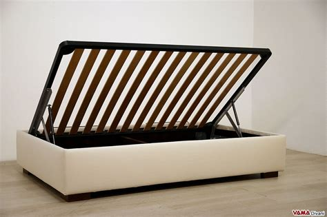 letto contenitore una piazza letto contenitore una piazza e mezza sommier vama divani