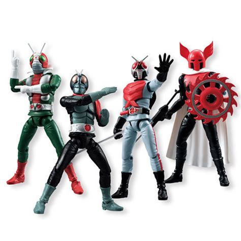 Shodo Kamen Rider Vs 3 Set bandai shodo world figure masked rider vs