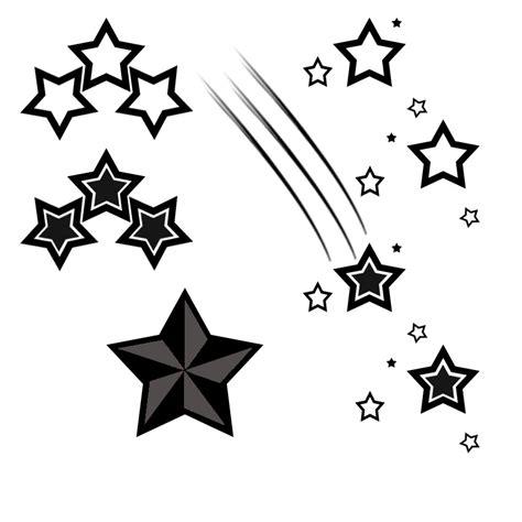 printable star tattoo designs free star tattoo designs to print clipart best