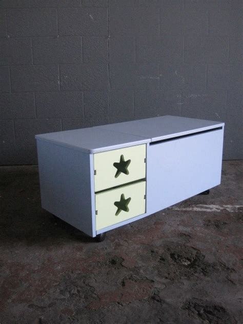 toy box with drawers blue kids drawers with toy box artappelartappel