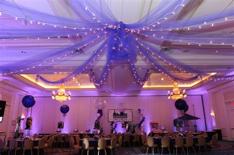 draping tulle ceiling draping balloon artistry