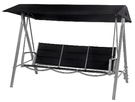 Patio Swing Bunnings Barbeques Galore Cuba 3 Seater Swing Reviews