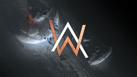 alan walker phone wallpaper 2048x1152 alan walker creative logo 2048x1152 resolution