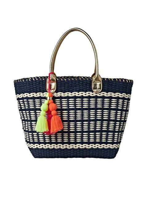 lilly pulitzer coastal straw tote bag from sandestin golf