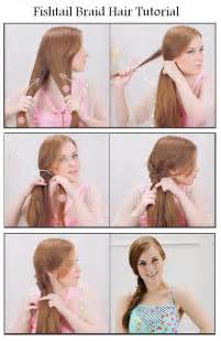 how to do mack hair hair and fashion make fishtail braid for your hair