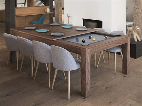 Pool Tables As Dining Room Tables Aramith Fusion Wood Line Dining Pool Table Robbies Billiards
