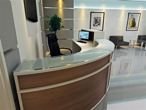 Reception Desks Reception Counters 163 1 798 00 Genesys Reception Desk Uk