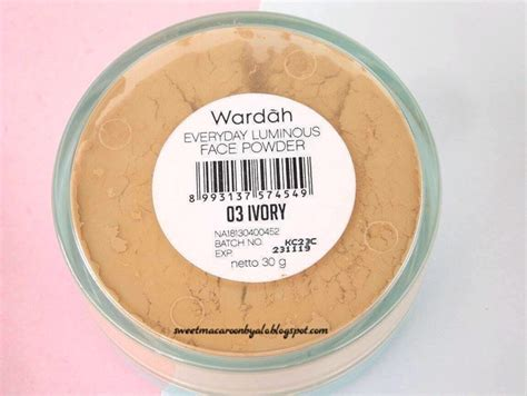 Bedak Wardah Everyday Luminous Powder wardah everyday luminous powder