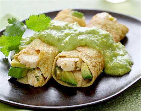 receta de crepes salados - Crepes Receta Salados