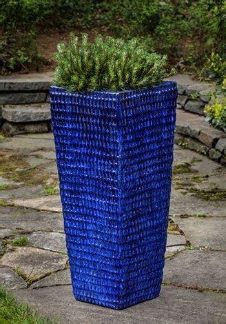 tall blue planter adastra