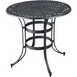superb black metal patio table 11 high top bistro table outdoor newsonair org