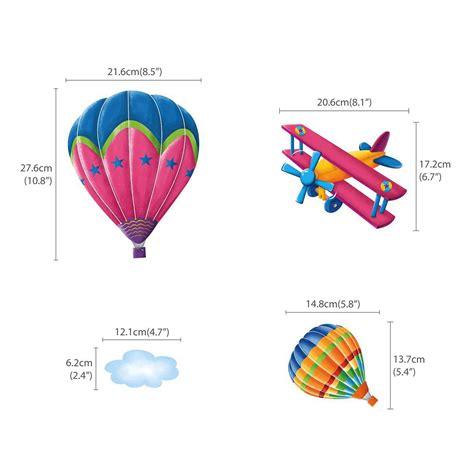 wandtattoo kinderzimmer flugzeug wandsticker flugzeuge hei 223 luftballons wandsticker kinderzimmer