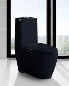 Bettino black toilet