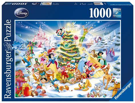 disney printable jigsaw puzzles ravensburger a walt disney christmas 1000 piece jigsaw