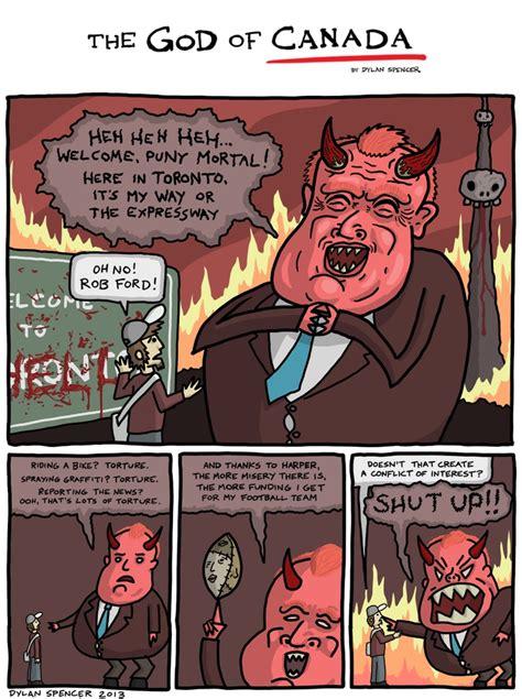 Along With The Gods Calgary | the god of canada 7 hell part 3 cartoons pinterest