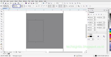 cara membuat id card coreldraw x7 tutorial membuat id card modern vertikal menggunakan
