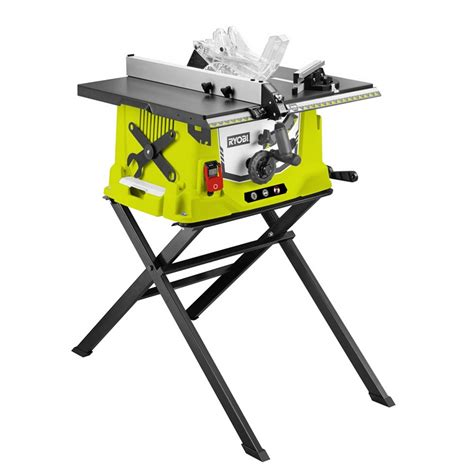 bench saw nz ryobi 1800w table saw 254mm bunnings warehouse