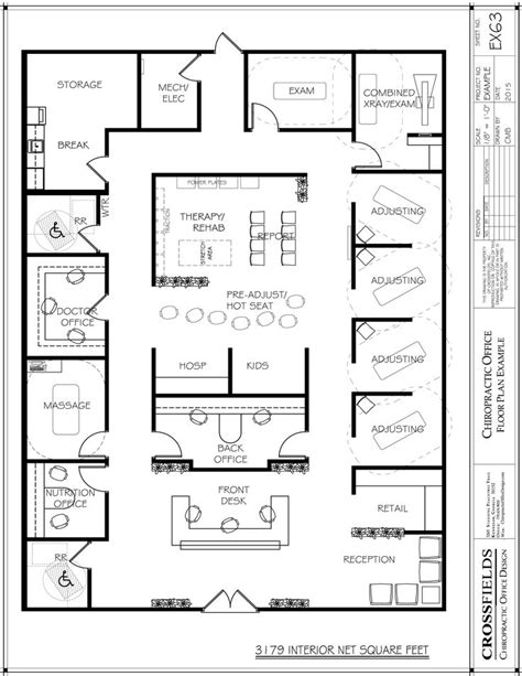 doctor office floor plan 132 best chiropractic floor plans images on pinterest