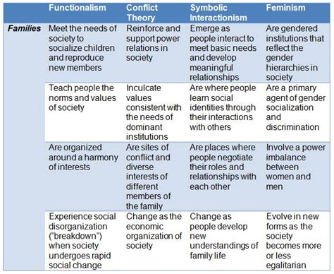 biography definition in sociology family theories functionalism conflict theory symbolic
