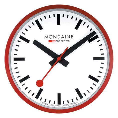 mondaine wall mondaine wall clock buy and offers on dressinn