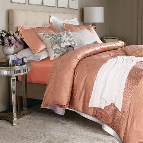 Solid Color Quilts For Bedding 6 Pieces Cotton Imitated Silk Luxury Bedding Set Solid
