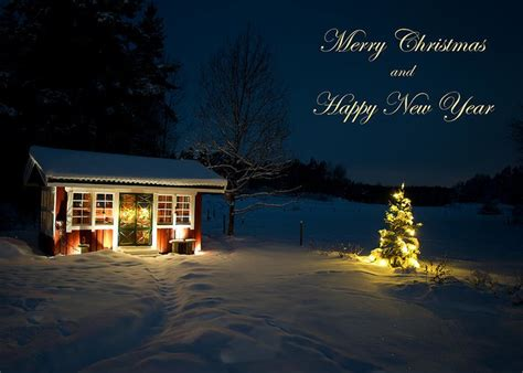 christmas night merry christmas  happy  year greeting card  sale  torbjorn swenelius