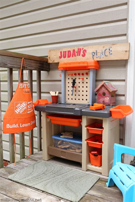space saving diy workshop