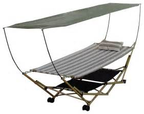 Hammock With Canopy And Stand by Bliss Hammocks Stow Ez Portable Hammock And 4 Part Stand