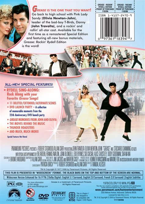 Grease Dvd Launch by Grease Dvd 2006 Release