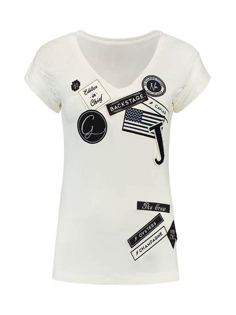 Tshirt Path Login sportique zeewolde nikkie patches tshirt n6 214 1602