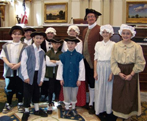 themes of children s literature in colonial america the adventures of 2f excursion colonial dress