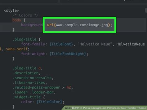 tumblr themes for saved urls how to put a background picture in your tumblr theme