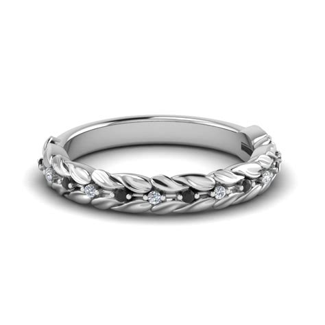 Wedding Bands Black by Wedding Rings White Gold And Black Wedding O