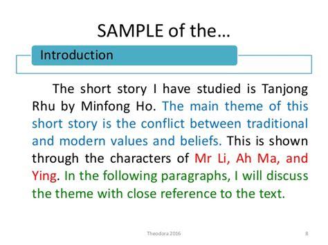 themes tanjung rhu literature tanjong rhu q33 answering technique