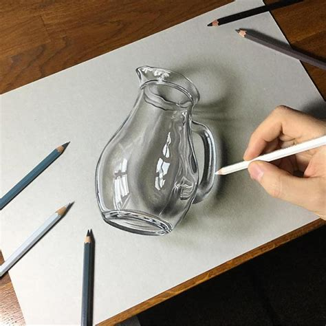 3d Drawing 50 amazing 3d photo realistic pencil drawings by marcello
